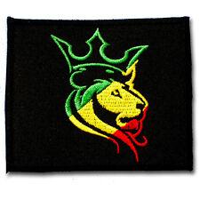 Jamaica Lion of Judah Rasta Patch Bob Marley Embroidered Hippie Rastafari Reggae