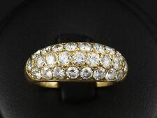 Wertvoller Brillant Band Ring ca. 2,50ct mit 25 Brillanten   750/- Gelbgold