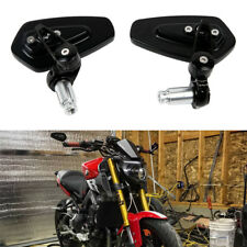 "Custom Motorcycle 7/8"" Handle Bar End Side Mirrors For Yamaha Naked FZ/MT-09 07"