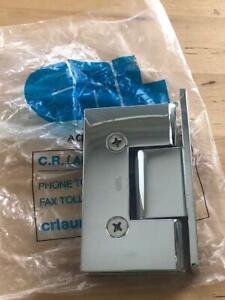 CRL Vienna 337 Series Hinges - Chrome (P/N VIE337CH)