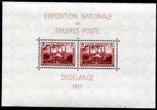 LUXEMBURG 1937 BLOCK2 ** POSTRFRISCH MINIAUFLAGE 15€++(I1588