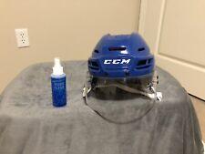 New listing CCM tacks 710 Royal Blue helmet Adult Medium With CCM VR24 Visor