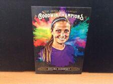 2018 Upper Deck Goodwin Champions Shelina Zadorsky Soccer Splash of Color SP