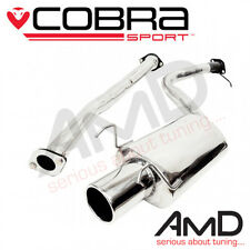 Cobra Sport Lexus IS200 Cat Back Exhaust System Stainless Steel Non Resonated
