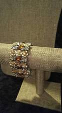 Retired Premier Designs Floral Affair Bracelet