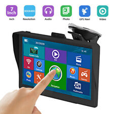 "7"" 8G 256MB Capacitive Car GPS Navigation Bluetooth AV-IN Navigator 2D/3D Map"
