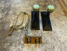 Pair Vintage Magnavox Astro-Sonic Console Horns/tweeters - 580088. & crossover
