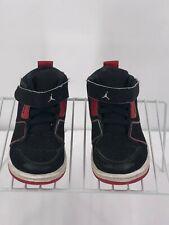 Nike Jordans Toddler 9C 631786-002 Black Red White