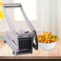 Stainless Steel Kitchen Slicer French Fry Vegetable Potato Cutter Blade Machine