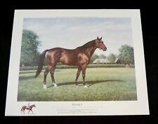 Richard Stone Reeve - Nijinsky II - Collectible Famous Race Horse Print