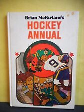 Brian McFarlane's Hockey Annual,1973,Signed,Auto,1st Ed