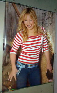HILLARY DUFF Vintage 2003 Poster