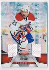 2011-12 CERTIFIED MIRROR RED DUAL JERSEYS BRIAN GIONTA 2 JERSEYS 1 COLORS
