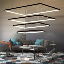 LED Modern living room ceiling light Lamp dimmer Acrylic chandelier black lights