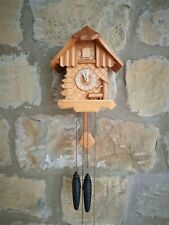 More details for a good quality cuckoo clock by regula - unusual design in excellent condition