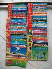 LUPO ALBERTO = LOTTO DI 43 FUMETTI= ANNI '80/'90 = TUTTI DIFFERENTI = OTTIMI !!!