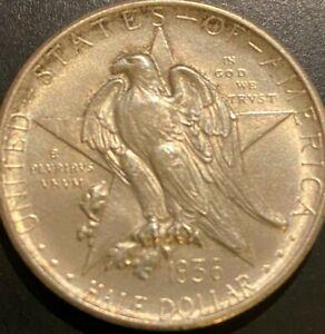 1936-D Texas Centennial Commemorative Half Dollar