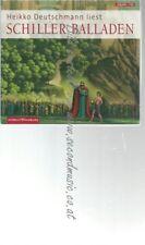 CD--FRIEDRICH SCHILLER UND HEIKKO DEUTSCHMANN--    BALLADEN: