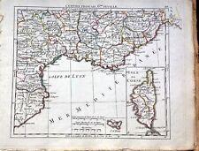 FRANCE/ FRANCIA. Isle de Corse, Golfe de Lyon.  E. Hérisson,Paris,1806.