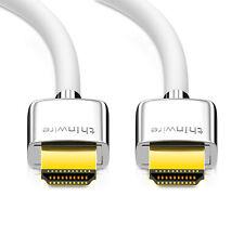 mumbi UltraThin HDMI Kabel 2.0 Ultra HD 4K 3D HDR UHD High Speed mit Ethernet 1m
