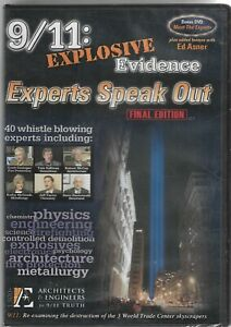 NEW! SEALED! 9/11: Explosive Evidence - Experts Speak Out DVD (Final Edition)