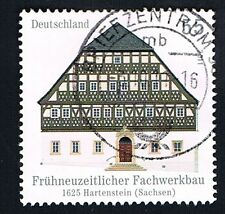 GERMANIA 1 FRANCOBOLLO ARCHITETTURA HARTENSTEIN 2011 usato