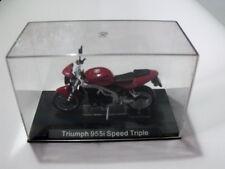 Modellino Moto scala 1:22 per collezionisti TRIUMPH 955I SPEED TRIPLE [N1]