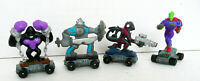 LOT OF 4 KENNER 1991 SAVAGE MONDO BLITZERS ON SKATEBOARDS MINI 2''TALL FIGURES