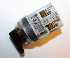 IDEC ASD2L11N - Switch Selector - 2 Position - 10 amp 120 Volt - N.O./N.C.-DPST