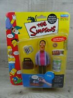 Playmates The Simpsons World Of Springfield Carl Series 6 Action Figure 2001