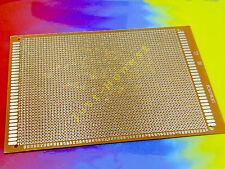 LOCHRASTERPLATINE XXL STRIP BOARD PLATINE 120mm x 180mm PCB Einseitig  #A624