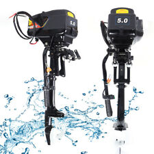 New listing 48V 5Hp Electric Outboard Trolling Motor Sea Boat Engine 1200W Propeller Best