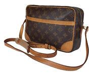 LOUIS VUITTON Trocadero 27 Monogram Canvas Crossbody Shoulder Bag LS3151