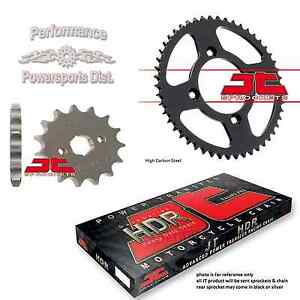 JT Sprockets and Chain Kit for Honda CRF50 2004-2018