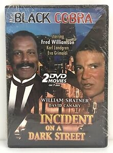 The Black Cobra -Incident On A Dark Street DVD Double Feature Williamson Shatner