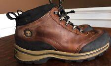 Timberland Boys Hiking Waterproof Leather Boots Size 4.5