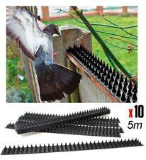 Herse Pics Barrière anti Pigeons / Escalade Répulsif 10 Pièces 5m de long