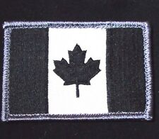 CANADA FLAG ARMY TACTICAL MILITARY MORALE BADGE SWAT OPS VELCRO PATCH