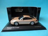 PORSCHE 911 996 COUPE - 2001 - 1/43 NEW MINICHAMPS 400061025