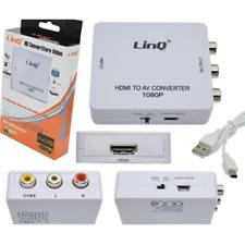 Adattatore Convertitore Linq Da Da Hdmi A Av Hdv-620 Con Alimentazione