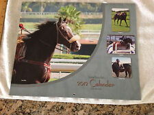 2012 Santa Anita Wall Calendar Beautiful Horse pictures