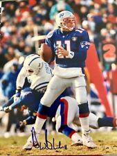 Signed autographed photo of New England Patriots QB Drew Bledsoe