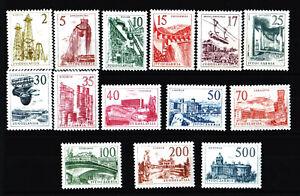 YUGOSLAVIA: Domestic Industries Second Design, Year 1958, Full Set; MNH