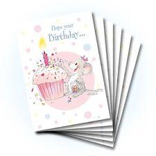 Suzy's Zoo Happy Birthday Card 6-pack 10301