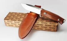 Lion Steel M5 Fixed Blade Knife Santos Wood Handle Sleipner Steel Blade TM5ST