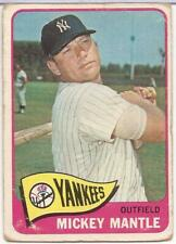 1965 TOPPS  # 350 - MICKEY MANTLE - NEW YORK YANKEES