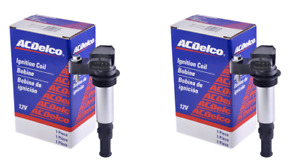 D501C ACDelco Ignition Coil Fits Cadillac CTS SRX Buick Saab 9-3 UF375 SET 2