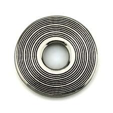 Sonido círculo Original plata esterlina sólida encanto Ohm Bead aap023