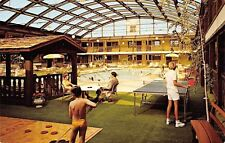 Appleton Wisconsin~Midway Motor Lodge~Bubble Dome Over Ping Pong~Table Tennis