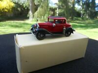 BROOKLIN MODELS 5 FORD A FIRE NEW ORLEANS 1930 SERIE LIMITEE 100 UNITES. RARE !.